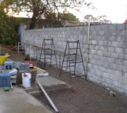 Retaining Wall @ College Park