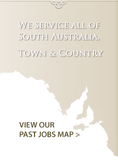 View our past jobs map
